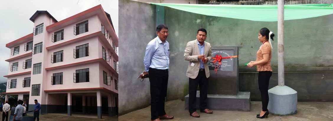 NPWD Annex Building Kohima inaugurated on 13th August 2018 by Honorable Minister PWD Shri.Tongpang Ozukum