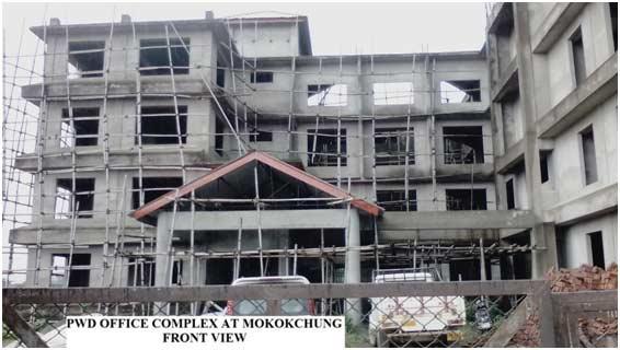 pwd office complex, Mokokchung