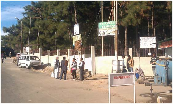 Construction of Boundary wall fencing at NEIGRIHMS, Shillong, Meghalaya (Nagaland Medical Lodge)