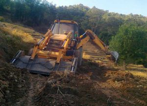AGRI-LINK ROAD CUTTING AT CHEDEMA KOHIMA DISTRICT