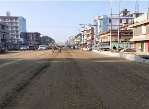 Improvement of city portion of Dimapur city of NH-39