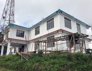 Ongoing SP office at Mokokchung under mod