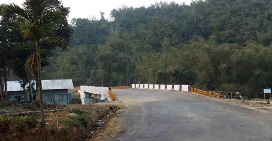 2.Construction of composite Bridge over river Tsusangra on NH-61